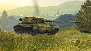 Wot Blitz. Т-54 Перший зразок. Gameplay.Фарм + Враження. 6 боїв.5 перемог.Мої коментарі.