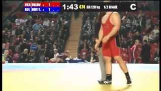 120 kg Orlov (UKR) - Dimitrov (BUL) Semifinal