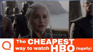 The Cheapest Way to Watch HBO (Legally) | How To Get HBO Online