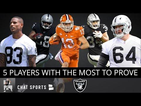 online retailer a781c 3a327 Raiders 2019 Team Captains: Projecting Oakland's 6 Captains ...