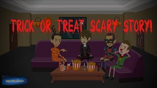 Trick or Treat Scary Story (Animated in Hindi)