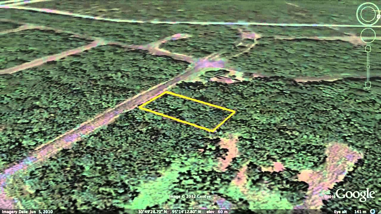 Houston Texas Land For Sale Next To Lake Livingston Owner