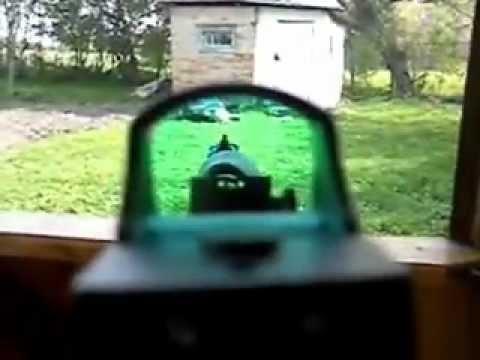 Хатсан АТ 44-10 с коллиматором - YouTube