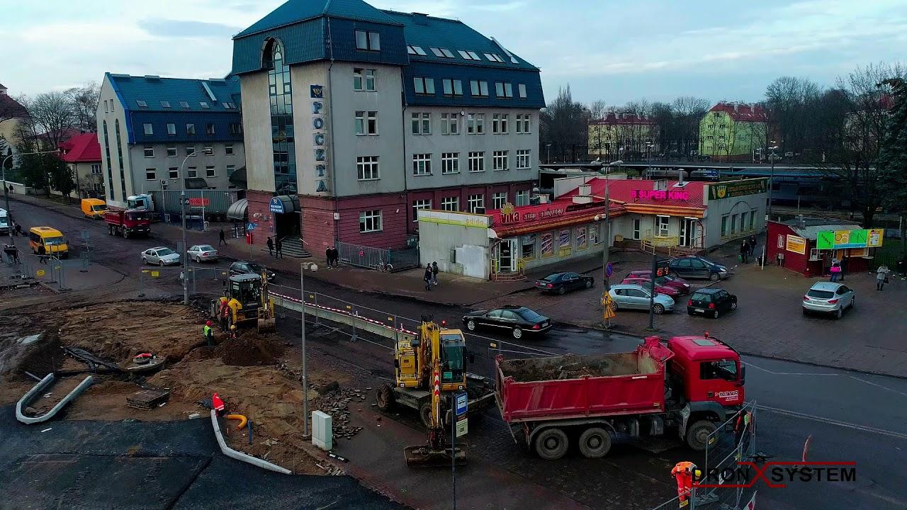 Budowa węzła przesiadkowego – listopad 2017 r.