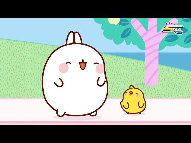 سبيستون | مولانغ الحلقة 10 - Spacetoon | Molang Episode 51