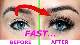 How To Grow Long,Thick, Strong Eyelashes Naturally and FAST || Priya Malik