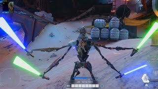 Star Wars Battlefront II - Hero Showdown Gameplay (No Commentary)