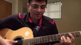 En Vaanile Illayaraaja tamil song guitar chords lesson by Suresh