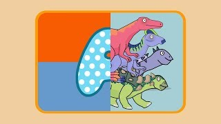 Learn ABC Dinosaur Names | Learn Dinosaurs Names and Sounds for Kids | MiMi TV