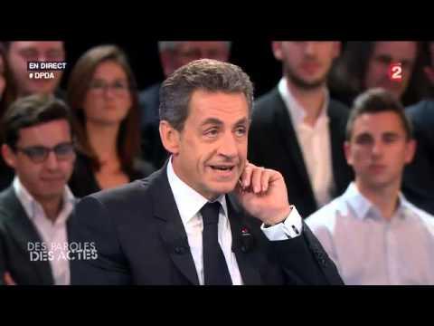Nicolas Sarkozy «Des paroles et des actes» 04/02/2016 #DPDA