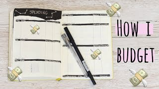 How I Budget In My Bullet Journal | ThatQuirkyGirl