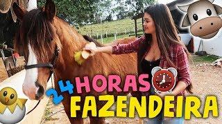 24 HORAS SENDO FAZENDEIRA!