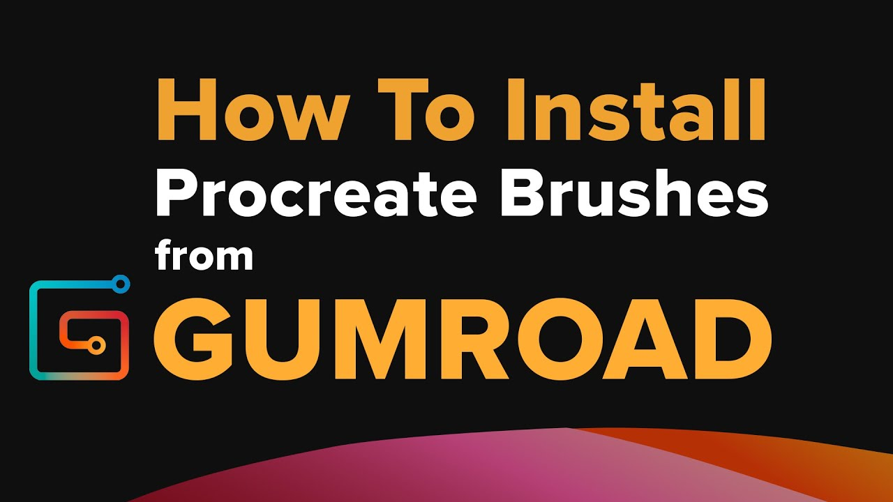 How to Install Procreate Brushes fro Gumroad Tutorial