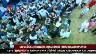 24/07/2017 ORDU BÜYÜKŞEHİR BELEDİYE BAŞKANI ENVER YILMAZ'IN BASIN TOPLANTISI
