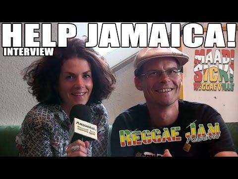 Interview with Hilmar Keding |Help Jamaica! @Reggae Jam 2015