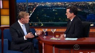 "John Dickerson and Stephen Colbert on 2016, ""Whistlestop"" and more"