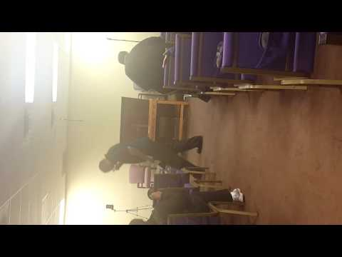 Fresh Oil Worship Center Minister Marcus E. Harris Pastor