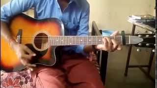 Tere Bin-Uzair jaswal Guitar chords (Accurate chords sequence)