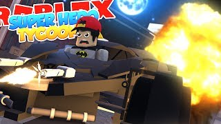 ROBLOX Adventure - THE BAT MOBILE IN SUPERHERO TYCOON!!!