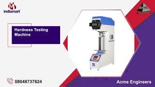 Industrial Testing Machines Manufacturer