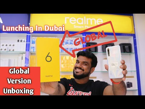 Realme 6 Global Version Unboxing.. launching In Dubai Great Price