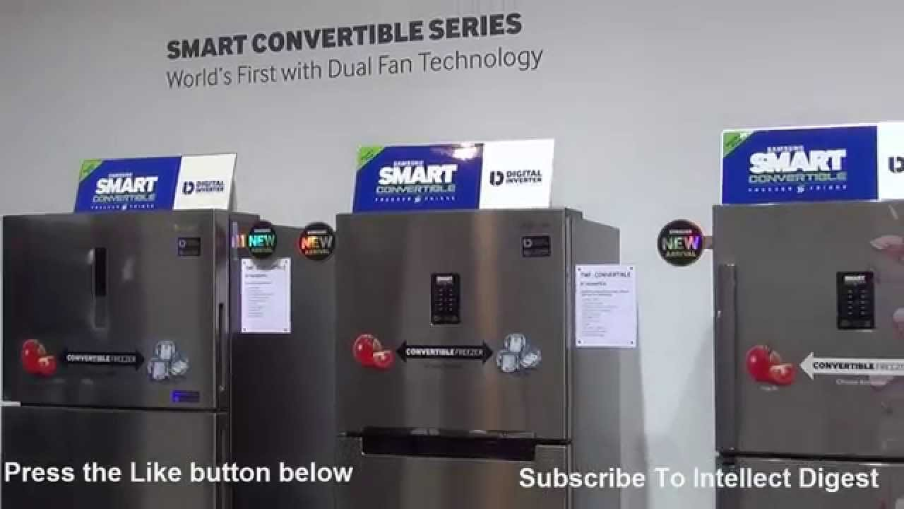 Samsung Smart Convertible Refrigerators Or Fridge Freezer You