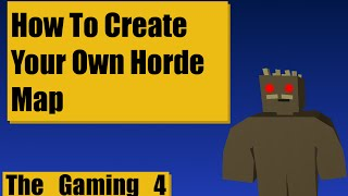 Unturned Map Editor: How to create a horde map