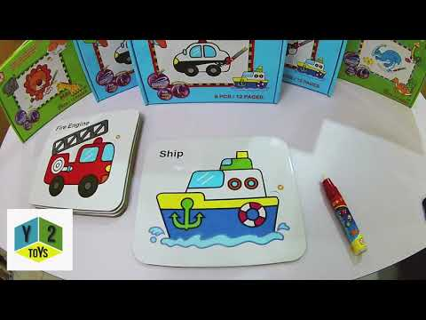 2 in1 Magic Drawing Board & Puzzle