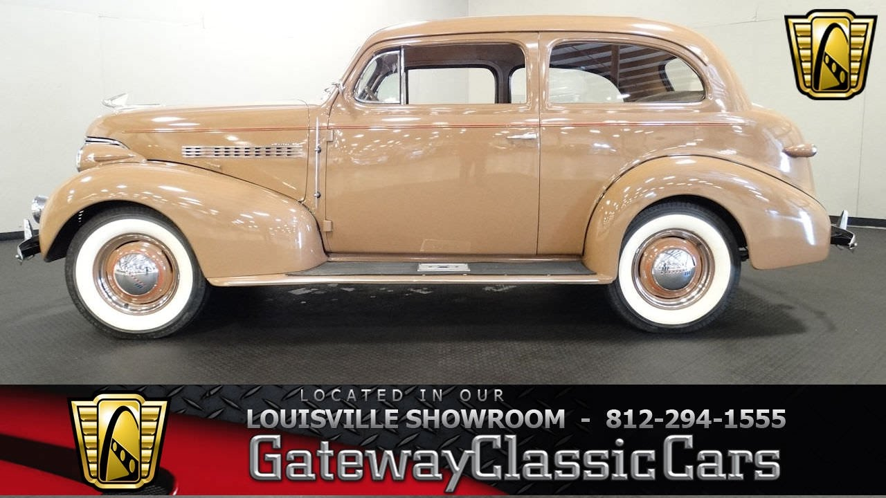 1939 Chevrolet Master 85 - Louisville Showroom - Stock # 1528 ...