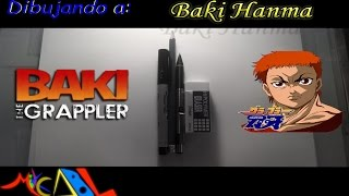 Dibujando a: Baki Hanma (Baki the Grappler)