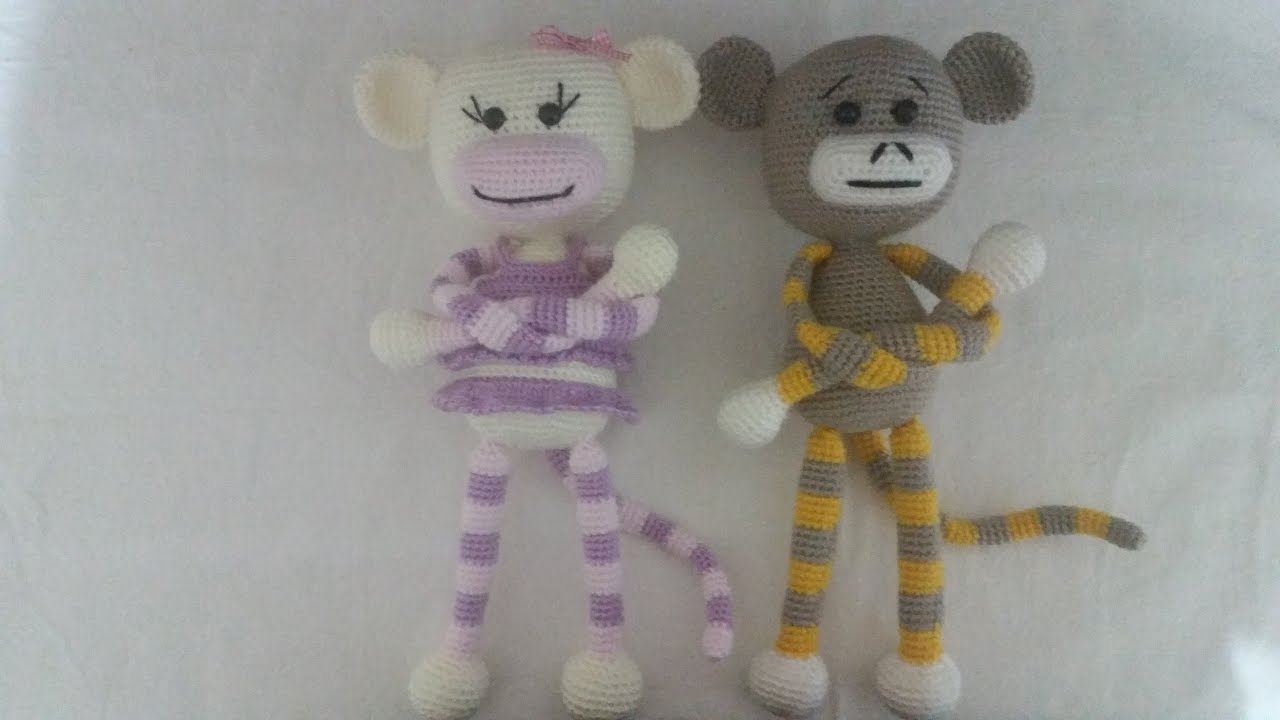 Amigurumi Maymun Mogli - Amigurumi Oyuncak Maymun Tarifi | 720x1280