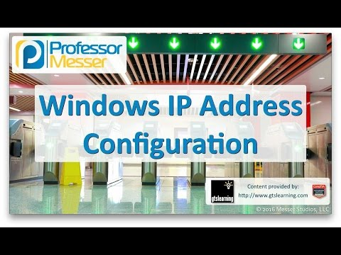 Descargar Video Windows IP Address Configuration - CompTIA A+ 220-902 - 1.6