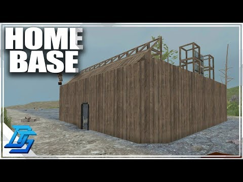 Home Base Build , Demo Becomes Barter King  - 7 Days to Die - S2- Pt. 4