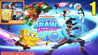 Video Super Brawl Universe Gameplay Part 1 (By Nickelodeon) Android iOS download MP3, 3GP, MP4, WEBM, AVI, FLV Agustus 2018