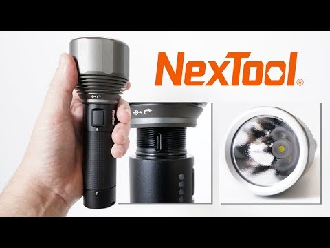 NexTool XHP50.2 - Powerful flashlight with Type-C USB charging just $31.99!!!