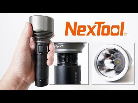 NexTool XHP50.2 - Powerful flashlight with Type-C USB charging just $31.99!!!
