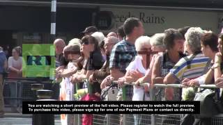 UK: Military funeral held for slain Woolwich soldier