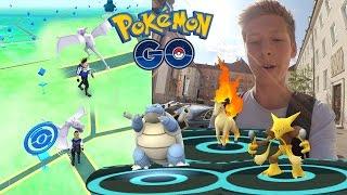 2x Aerodactyl und Turtok, Gallopa & Simsala • Pokemon Go deutsch