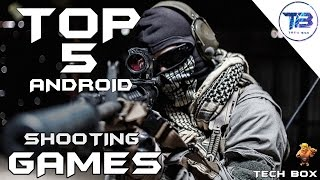 TOP 5 MULTIPLAYER SHOOTING GAMES FOR ANDROID || FPS GAMES | [HINDI/URDU]