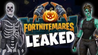 *LEAKED* Fortnitemares Regreso? Fortnite Save The World Halloween Event