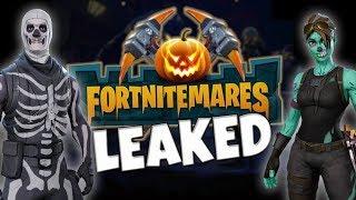 *LEAKED* Fortnitemares Returning? // Fortnite Save The World Halloween Event