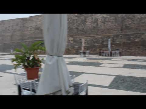 Granizada sobre Ceuta