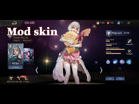 Mod Skin Ishar Giấc Mơ Ngọt Ngào   Arena Of Valor