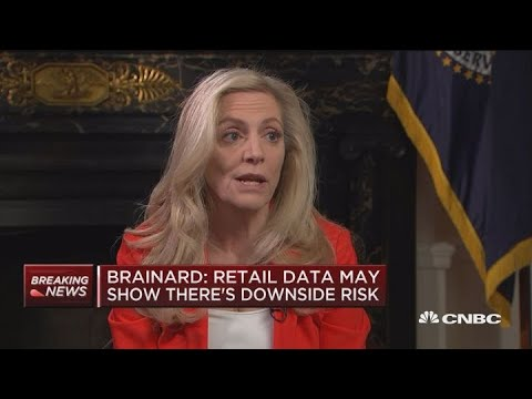 Federal Reserve Governor Lael Brainard on possibility of rate hikes