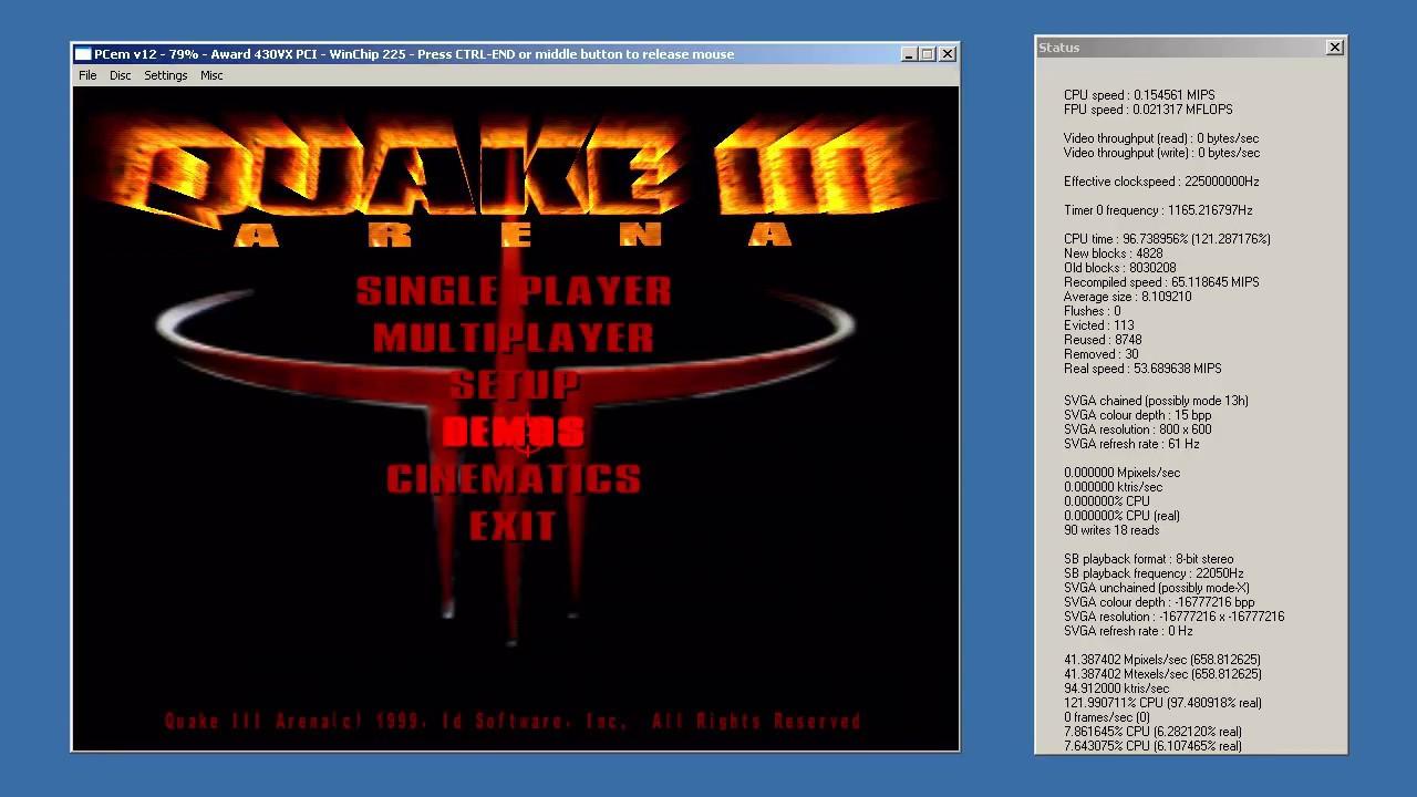 PCem v 12 test Voodoo 2 - смотреть онлайн на Hah Life