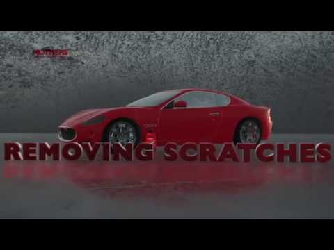 Removing scratches with Mothers Scratch Remover