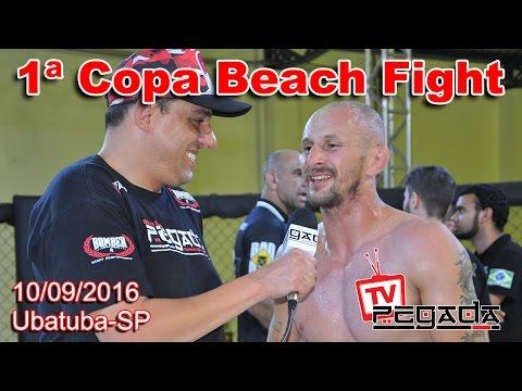 TV Pegada #0042 - 1ª Copa Beach Fight