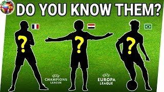 Can You GUESS Best Soccer PLAYERS From Their Silhouettes? | Best Footballers 2018/2019 | Soccer Quiz