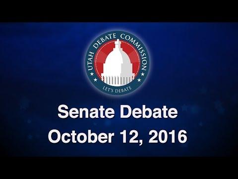 2016 Senate Debate between Sen. Mike Lee & Misty K. Snow