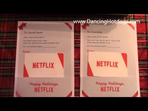 Gift a Netflix Subscription for Holidays 2014